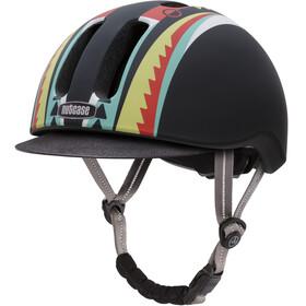 Nutcase Metroride - Casco de bicicleta - negro/Multicolor